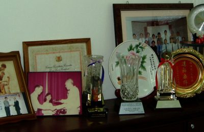 杨先生被授予的各奖项