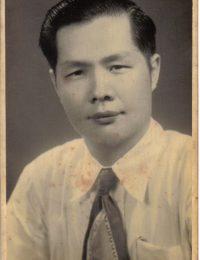 杨柳江先生肖像(1930年代)
