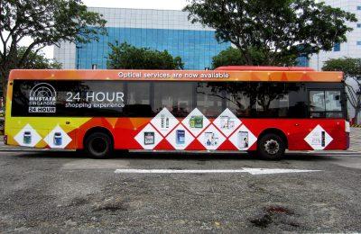 新加坡巴士广告,2017年