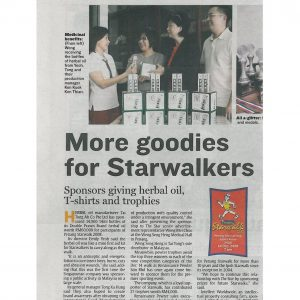 Goodies for Starwalkers Malaysia 2009