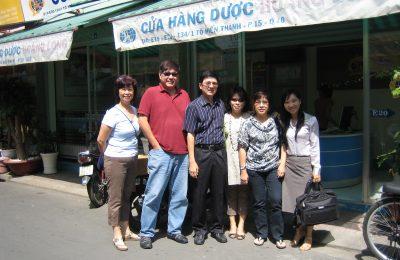越南胡志明市药店,2009年